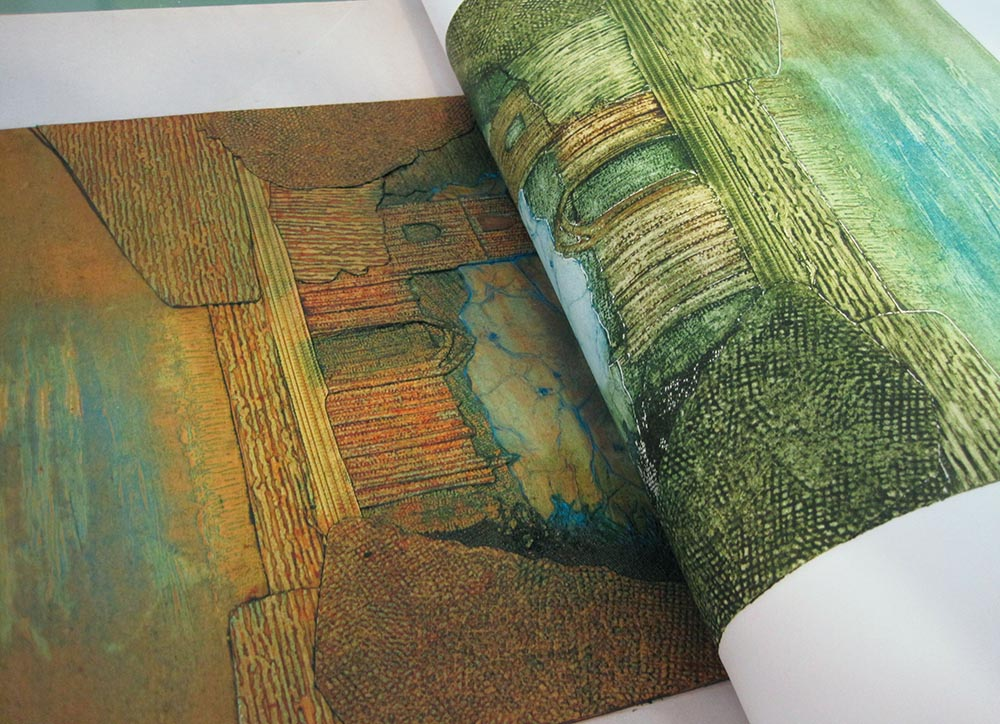PULLING A COLLAGRAPH